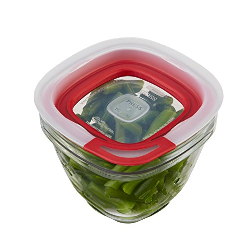 Rubbermaid Easy Find Lids Glass Food Storage Container 8