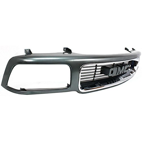 5e769efe911e3 best Evan-Fischer EVA17772010932 Grille for GMC Jimmy 95-97 Sonoma ...