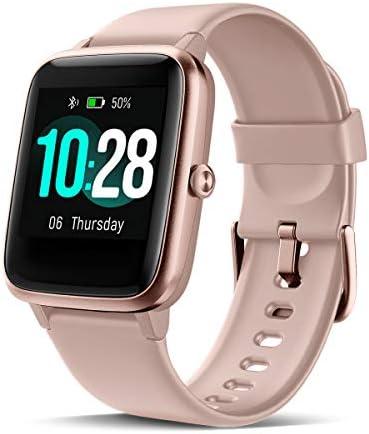 CHEREEKI Smartwatch, Fitness Armband mit Pulsmesser 1,3 Zoll Touch Screen Fitness Uhr Wasserdicht IP68 Fitness Tracker Sportuhr mit Schrittzähler Stoppuhr, Radfahren für Damen Herren Kinder