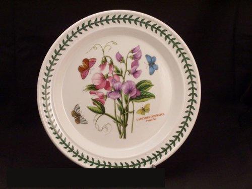 Portmeirion Botanic Garden Dinner Plate(s) - Sweet Pea (Botanic Garden Sweet Portmeirion)