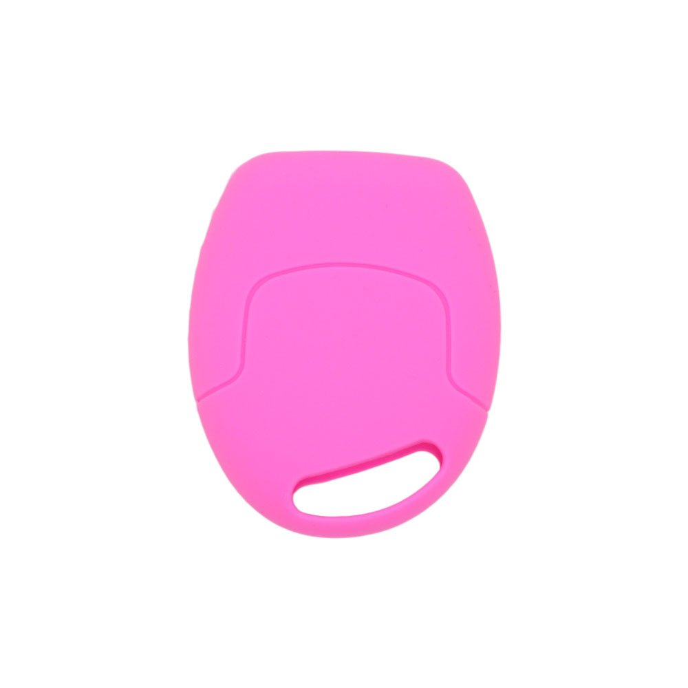 BROVACS Silicone Cover Protector Case Skin Jacket fit for FORD 3 Button Remote Key Fob CV9702 Black