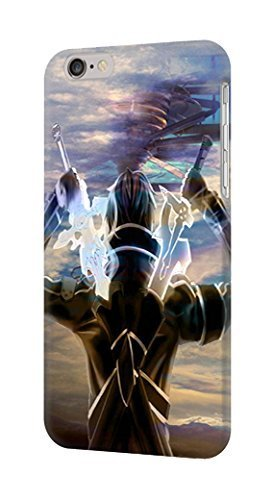 Sword Art Online Kirito Phone Case Custom Well-designed Hard Case Cover Protector For Iphone 5 5s