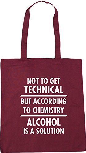 42cm to alcohol Tote get is Gym Burgundy but according to Shopping x38cm litres Bag HippoWarehouse 10 a Beach Not technical chemistry solution SpwnTCqC