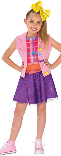 All Costumes (Rubies 640736_S Jojo Siwa Boomerang Music Video Outfit Costume, Multicolor, Small)