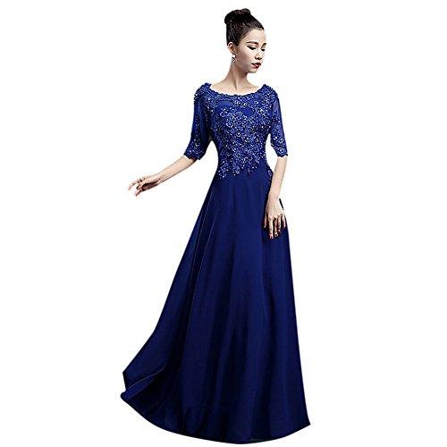 Damen Drasawee Kleid Damen Drasawee Empire Blau Empire Kleid xTqfpgwIx