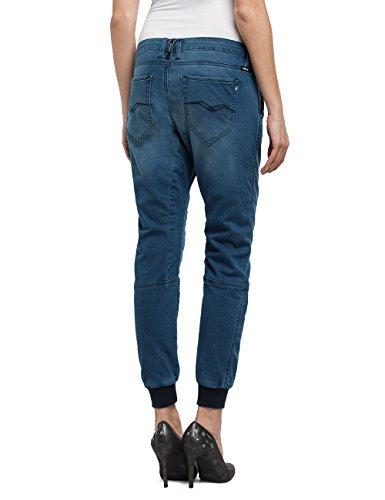 Mujer Para Boyfriend mid Denim Replay Selliams Azul 9 Blue Jeans nwIHwpqf
