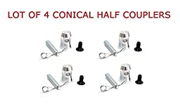 4 Half Coupler - HALF CONICAL COUPLER FOR F31/F32/F33/F34/F44P TRUSS SERIES