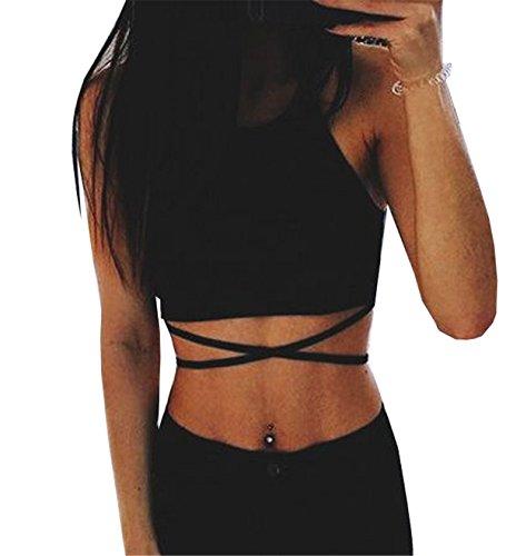Noir Manche Femme Clothing Coco Sans Manteau Body Chemise pUvg0