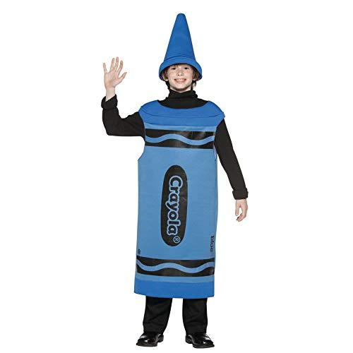 Tween Blue Crayola Crayon Costume ()