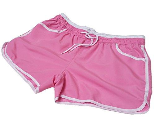Été Pants Sport Plage A Exercice Hot Femmes Rose Salle express De Short Yoga Sportif qw8PA8Exp