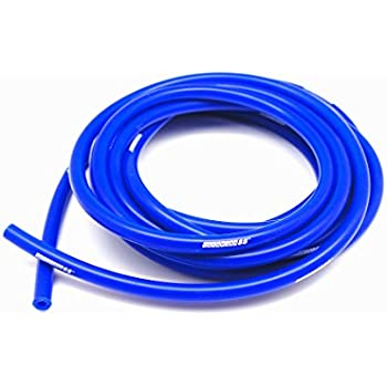 Color 7mm ID 0.12 High Performance Silicone Vacuum Hose Blue 3mm Length 10 Feet // 3 Meter OD 0.28
