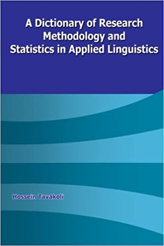 Amazon a dictionary of research methodology and statistics in amazon a dictionary of research methodology and statistics in applied linguistics 9789643675080 hossein tavakoli books fandeluxe Gallery