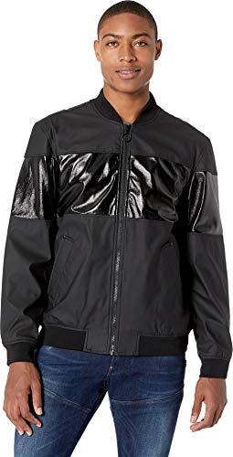Sean John Men's Waterproof Baseball Jacket, Black, Large from Sean John