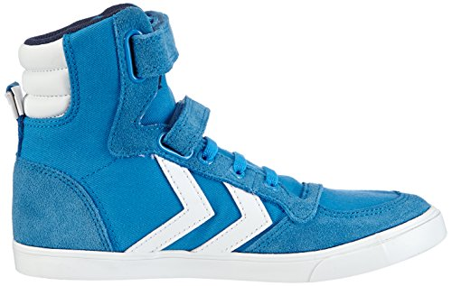 hummel HUMMEL SL STADIL JR CANVAS HI, Unisex-Kinder Hohe Sneakers, Blau (Brilliant Blue 7359), 31 EU