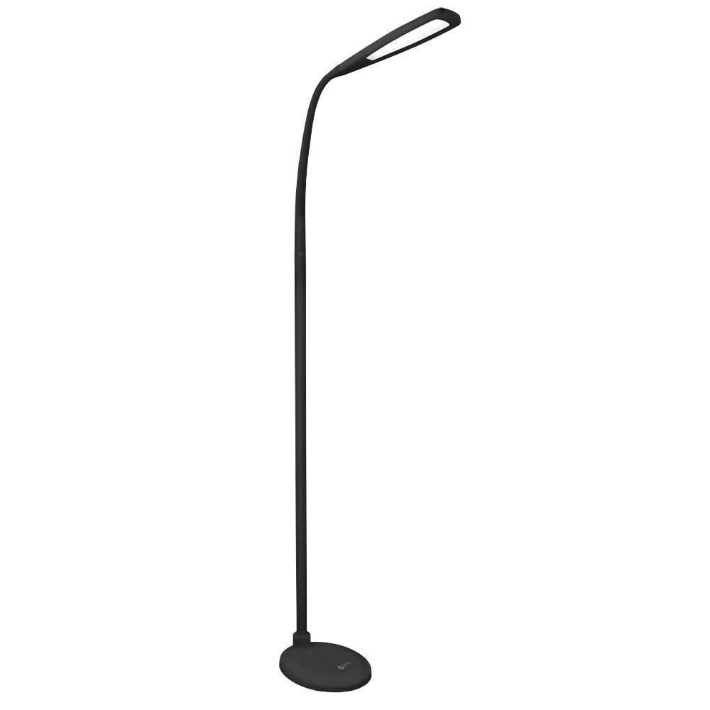 OttLite Natural Daylight LED Flex Floor Lamp | 700 Lumens, Adjustable Brightness Settings | Great for Home, Office, Dorm, Workshop