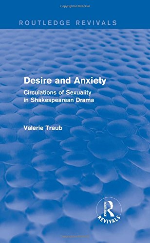 Desire and Anxiety (Routledge Revivals): Circulations of Sexuality in Shakespearean Drama by Routledge