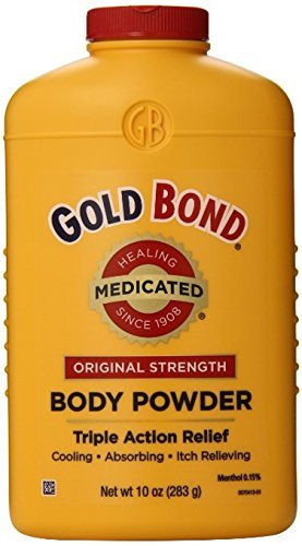 Gold Bond Body Powder Medicated 10 oz ( Pack of 2)
