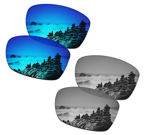 Oakley Jupiter Squared Frame Only - SmartVLT Men's Ice Blue&Silver Titanium Replacement