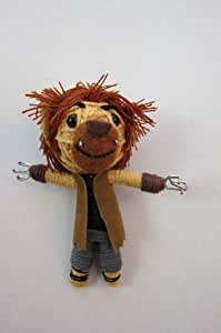 Werewolf Voodoo String Doll Keychain NEW