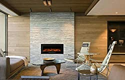 Masarflame Electric Fireplace recessed by Masarflame