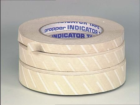 Indicator Tape Sterilizer - Propper Steam Sterilizer Indicator Tape 1/2