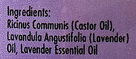 SUNNY Man lavanda Jamaica negro Castor Oil, 8 oz: Amazon.es ...
