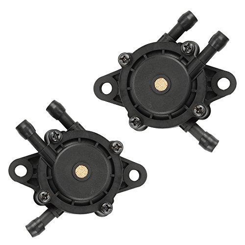 Hilom 2 Fuel Pumps for Kohler 24 393 04-S 24 393 16-S Briggs & Stratton 491922 691034 692313 808492 808656 John Deere LG808656 Honda 16700-Z0J-003 Kawasaki 49040-7001