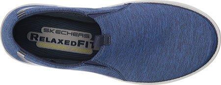 Skechers Usa Mens Mocassino Slip-on Mocassino Blu Marino