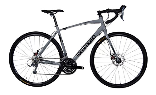 Tommaso Sentiero Adventure Disc Road Bike - Grey/Black - S Tommaso