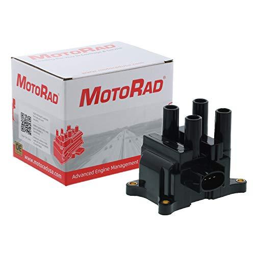 MotoRad 2IC142 Ignition Coil | Fits select Ford Contour, Escape, Focus, Mazda B2300, Tribute, Mercury Mystique