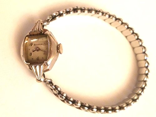 Watches Collectible Antiques (Bulova Women Watch 10 Kt Vintage - Silver)