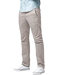 Men's Athletic Fit Straight Leg Casual Pants