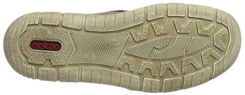 Rieker Herren F6513 Hohe Sneaker Braun (Cigar/Wood/Kastanie)