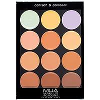 Makeup Academy (MUA) Professional Correct & Conceal Palette - Warm