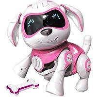 RCTecnic Perro Robot Para Niños ROCK Perrito de Juguete Interactivo con Emociones y Movimiento, Ladra