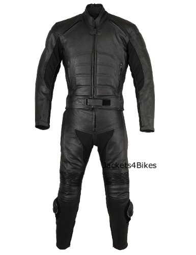 2PC 2 PC MOTORCYCLE LEATHER RACING RIDING SUIT ARMOR 48
