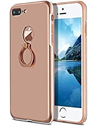 iPhone 7Plus Case Ultra Slim Fit Anti Scratch with Ring brackets For iPhone 7Plus 5.5''