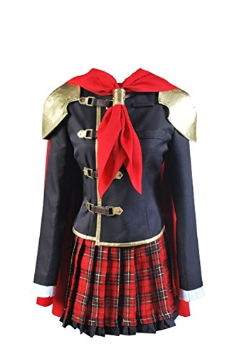 Cosplaybar Final Fantasy Type-0 FF Zero Rem Cosplay Costume Female XXXL - Final Fantasy Type 0 Seven Costumes