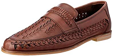Aquila AQ Tulsa Men's Tulsa Loafer, Chocolate, 40 EU