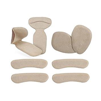 44fb661c599eb Amazon.com: Finico 8pcs(4 set)Flannelette & Gel High Heel Pads ...