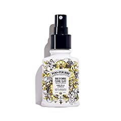 This Poo Pourri 2 oz. sprayer is the original formula of essential oils and other natural compounds that prevents bathroom odors before they begin! Just spray Poo Pourri into the bowl before-you-go, the proprietary formula creates a protectiv...