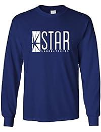 STAR LABS comic hero laboratories s.t.a.r. - Long Sleeved Tee