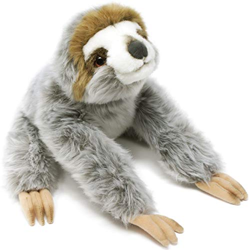 Siggy The Threetoed Sloth Baby – 12 Inch Large Madagascar Sloth Stuffed Animal Plush – by Tiger Tale Toys