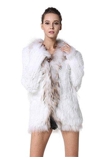 White Rabbit Fur Coat - 5