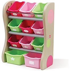 Step2 Fun Time Room Organizer Bins, Pink
