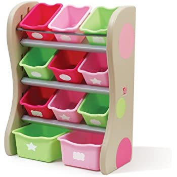 Step2 Lift And Hide Bookcase Storage Chest For Kids