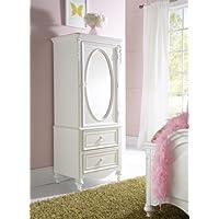 Samuel Lawrence Furniture SweetHeart Door Wardrobe in White