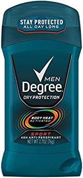 6-Pack Degree Men Dry Protection Antiperspirant Sport 2.7 oz