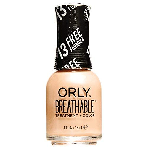 Orly Breathable Treatment & Nail Polish, Nudes, Inner Glow, 0.6 Fluid Ounce