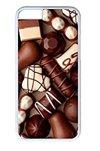Chocolates Slim Soft For HTC One M9 Case Cover Case PC White Cases
